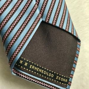 Ermenegildo Zegna Tie SOVEREIGN Blue pattern